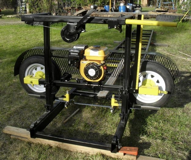 Sawmill as Homesteading Tool