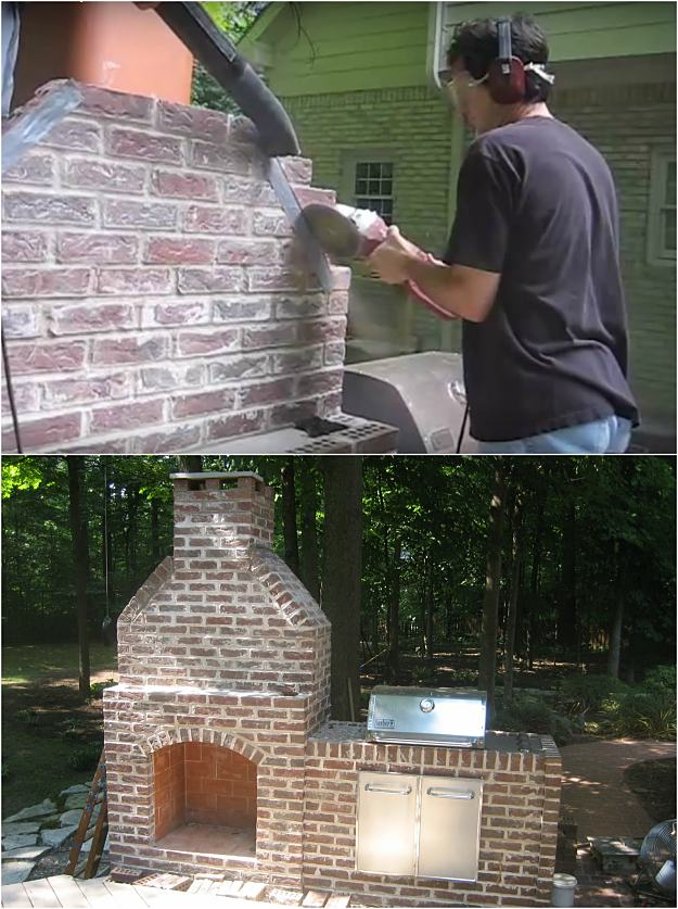 Want to know how to build an outdoor fireplace? If you want to cozy up with the whole family outdoors