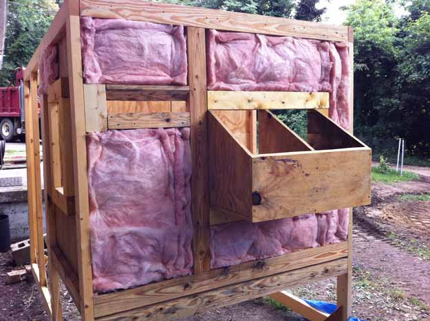 Insulation | Planning Your Chicken Coop