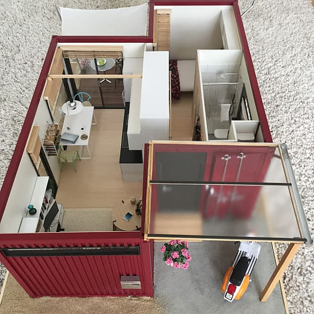 tiny scale shipping container house cool container homes that will inspire your own