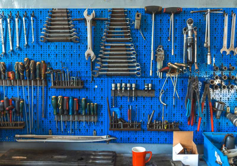 wrenches set workshop some wrenchs tools | garage organization system
