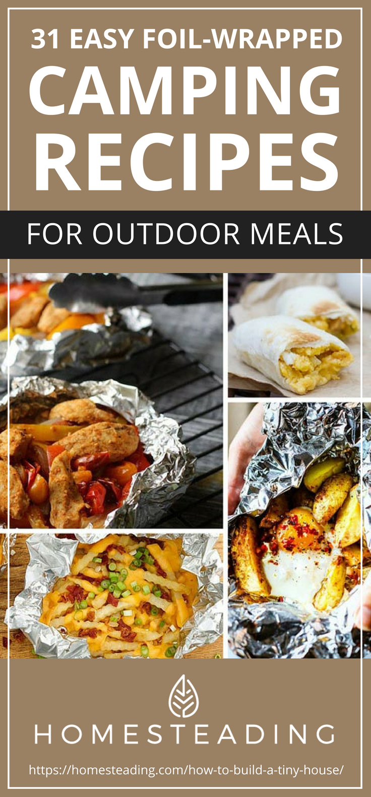 31 easy foil wrapped camping recipes for outdoor meals homesteading pinterest placard 31 easy foil wrapped camping recipes for outdoor meals forumfinder Gallery