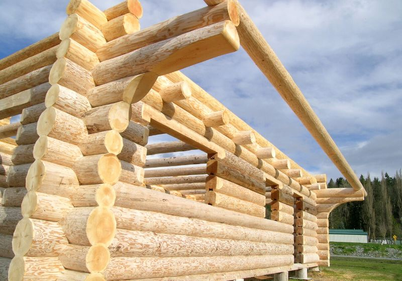log cabin | how to build a small log cabin