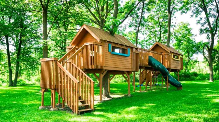 tree house | Awesome Treehouse Ideas For You And The Kids | featured