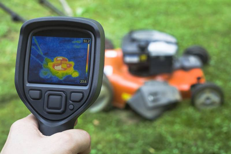 thermal image lawnmower | Lawn Mower Repair: Common Problems And How To Fix Them
