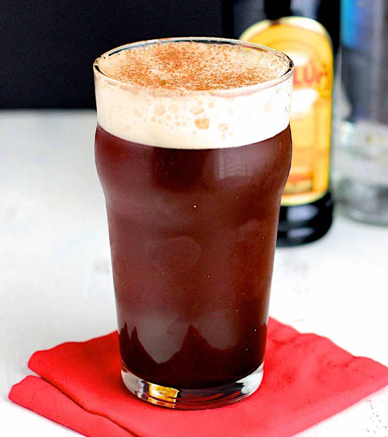 Loaded Christmas Ale | winter cocktails